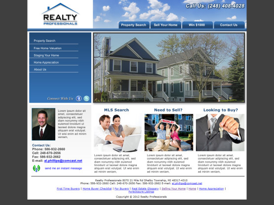 Realty Pros Homepage