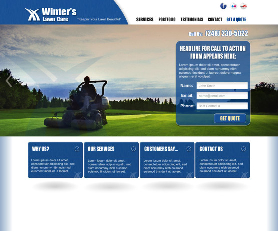 Winters Lawn Care Homepage